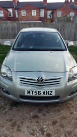 2006 Toyota Avensis 1.8 petrol LPG Converted 5 doors Hatchback 3 owners silver colour Long MOT