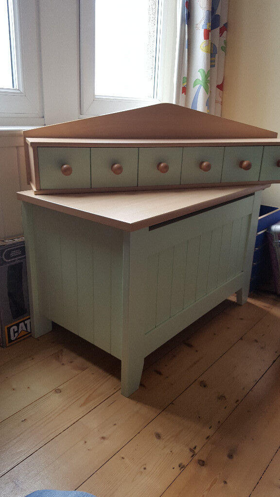 Mamas And Papas Savannah Nursery Furniture Incl Cot Bed Wardrobe Changing