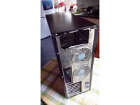 GIGABYTE 3D AURORA Black Aluminum ATX Full Tower Computer Case