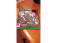 Brand New in plastic wrapper Xbox One games Gears of War 4 and Quantum Break bundle