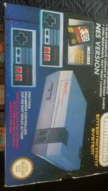 NINTENDO NES BOXED WITH 8 GAMES PLUS MORE LOOK