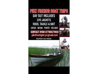 Pike fishing boat trips