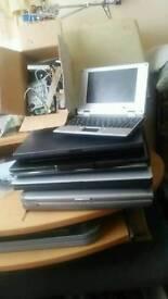 Job lot spare or repair laptops