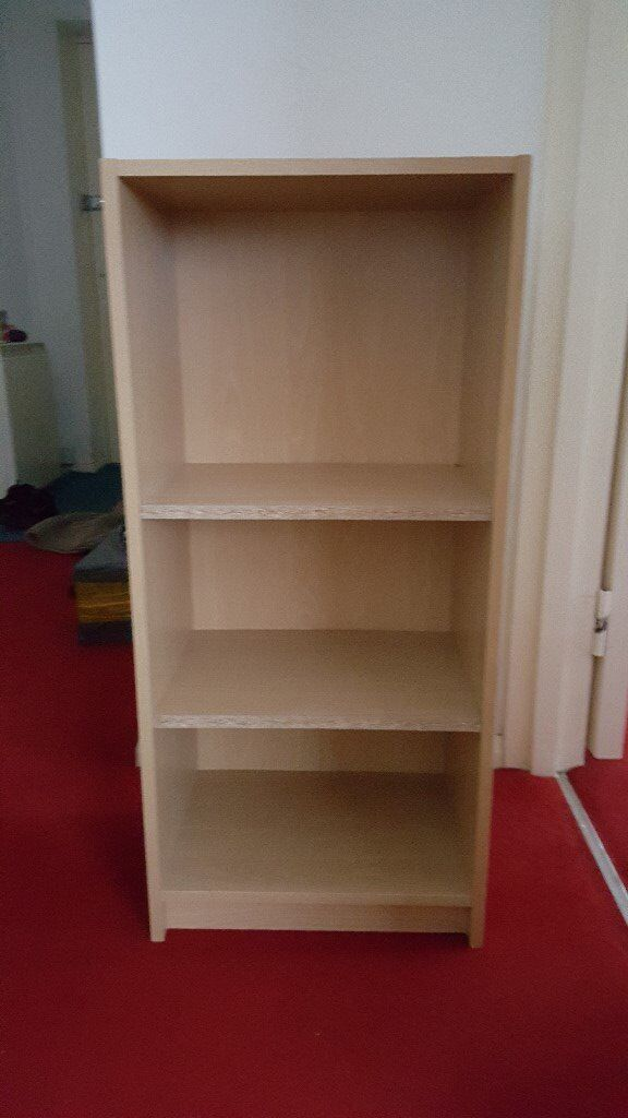 Agros Small Deep Bookcase Pine