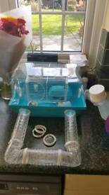 Hamster Cage with Balls