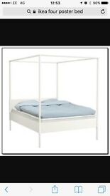 IKEA four poster Edmund bed frame