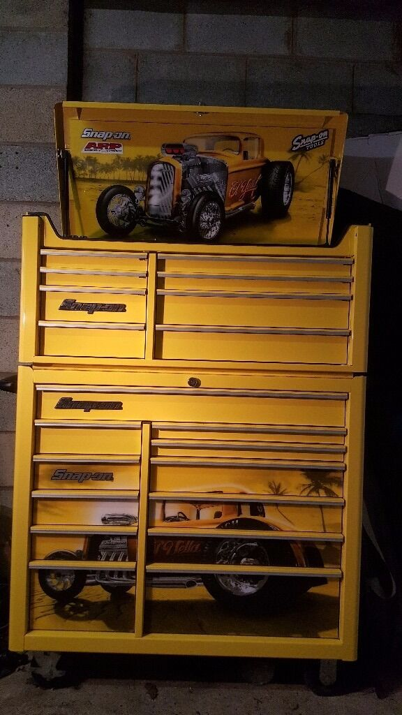 Snap On 40 Inch Tool Box Hot Rod Style In Shrewsbury