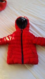 Mothercare red boys jacket