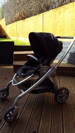 Maxi Cosi Elea pram/pushchair-Pebble Infant Carrier car seat-Family Fix Isofix-Accessories bundle
