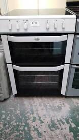 Belling double oven electric cooker