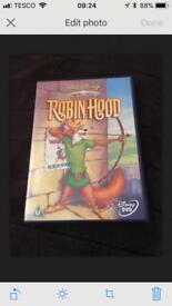 Disney Robin Hood DVD