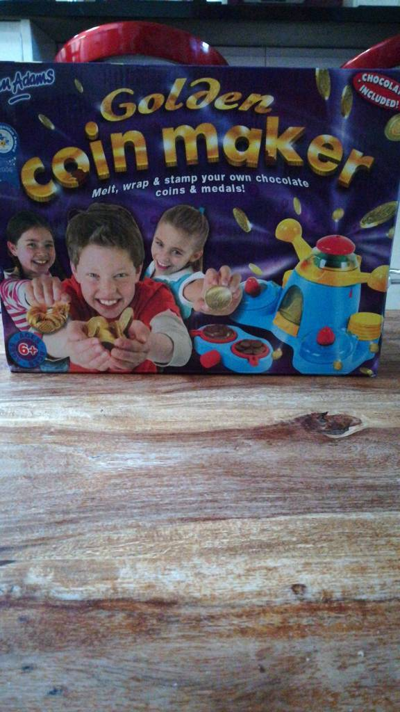 Coin maker. Kids toy