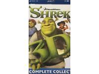 Shrek box set DVD's in 3D