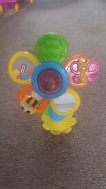 Little Tikes Sunny Funflower Highchair toy.