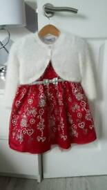 Christmas party dress 18-24 months