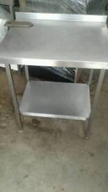 Commercial catering stainless steel table worktop
