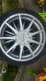 "Fox 15"" Alloy Wheels"