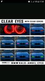 Bmw e46 halo lights (colour changing)