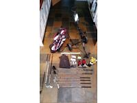 Wilson Staff Junior golf set with trolley and accessories