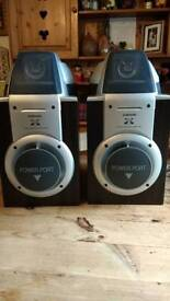 Samsung Powerport 360 speakers x 2