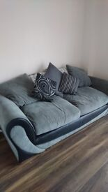 3 seater sofa for sale less than 1 year old
