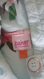 TED BAKER MINT GREEN QUILTED JACKET 18-24 MONTHS
