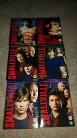 Smallville series 1-6