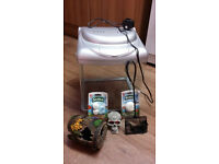 25 litre fish tank with light and extras. Collect from Liverpool 8