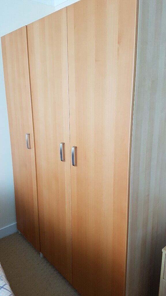 Fabulous 4 Pc Bed Furniture Double Single Wardrobes 2 Chest Of Drawers In East End Glasgow Gumtree Download Free Architecture Designs Crovemadebymaigaardcom