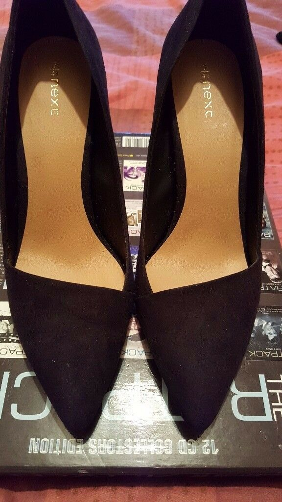 black high heels shoes for sale excellent cond.