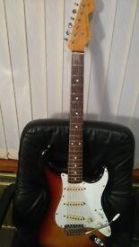 Fender Stratocaster Vintage Guitar 1962 Re-Issue