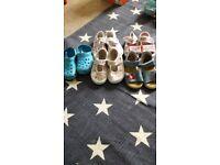 Baby girl's shoe bundle size eu 21-22