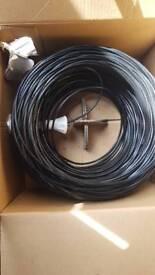 Cat 5e 4 pair UTP cable