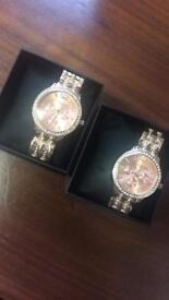 Michael kors rose gold coloured fits larger wrist