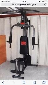 Pro power multi gym in great condition
