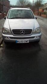 Mercedes ml 270disel auto long mot