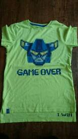 NEXT game over t-shirt 10 yrs