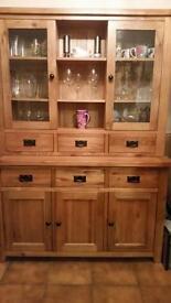 Solid Oak - Welsh Dresser