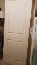 Internal Door - 4 panel smooth size 1981x838x35mm