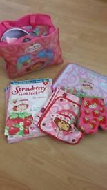 Strawberry shortcake set