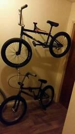 Custom bmx high spec wheels