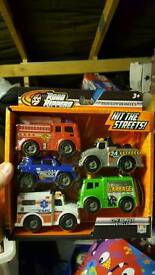 New pack of 5 mini vehicles