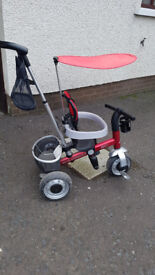 Toddler / parent trike