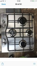 Hotpoint Stainless Steel Gas Hob New and Unused