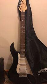 yamaha begginers selectric guitar with amp