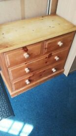 Pine 2 +2 Chest of Drawers
