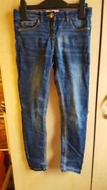 Girls next skinny jeans age 9