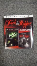 'Jack the Ripper' dvd and book set