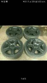 "17"" 4x108 Genuine Peugeot Gti alloy wheels 206 306 207 106 saxo ds3"