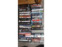 60+ dvds and blu-rays